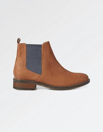 Newham Nubuck Chelsea Boots