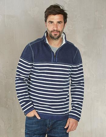 Airlie Breton Stripe Sweatshirt