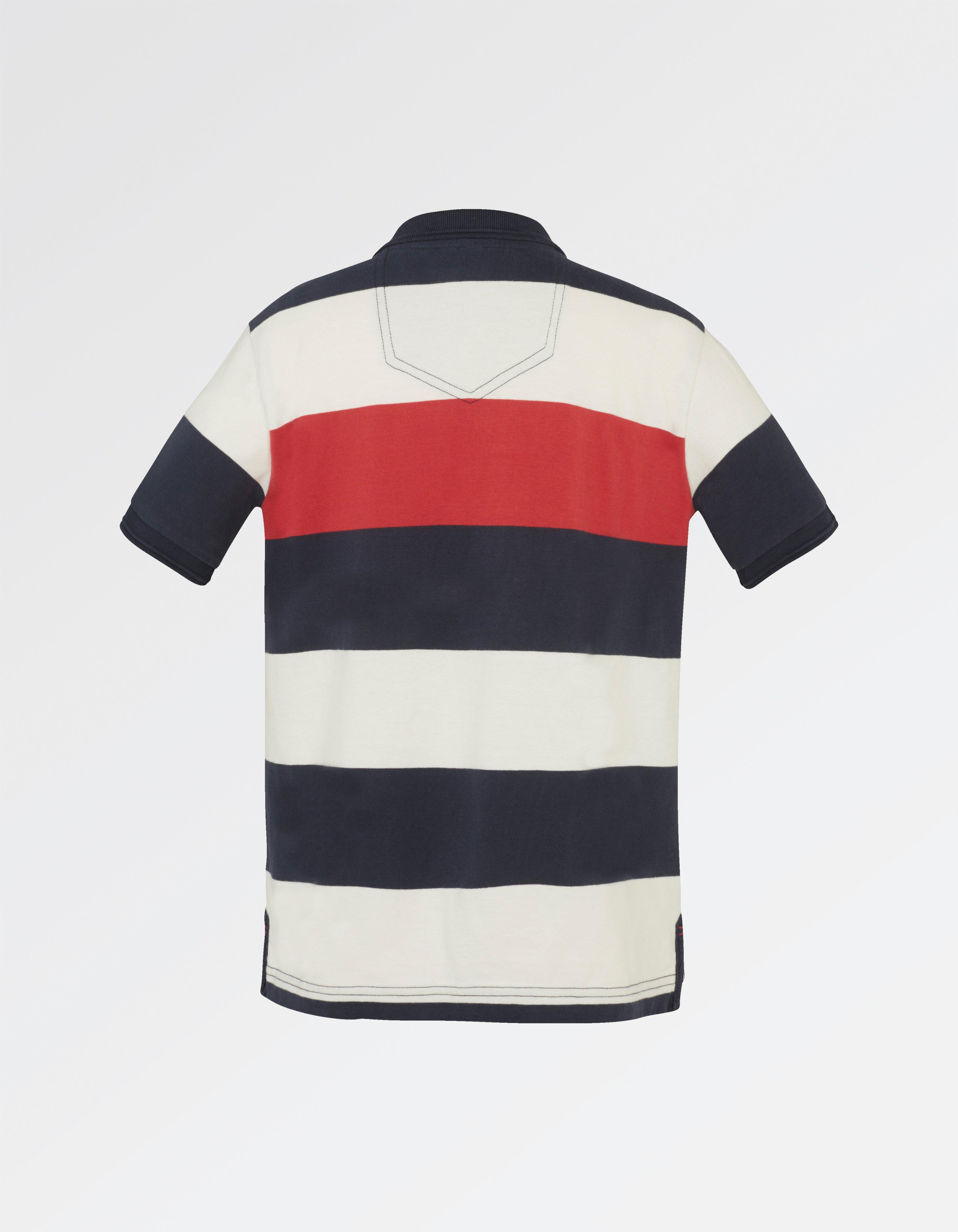 Highlight Stripe Polo