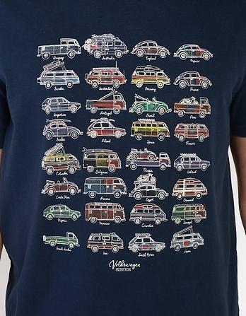 VW Football Organic Cotton Graphic T-Shirt