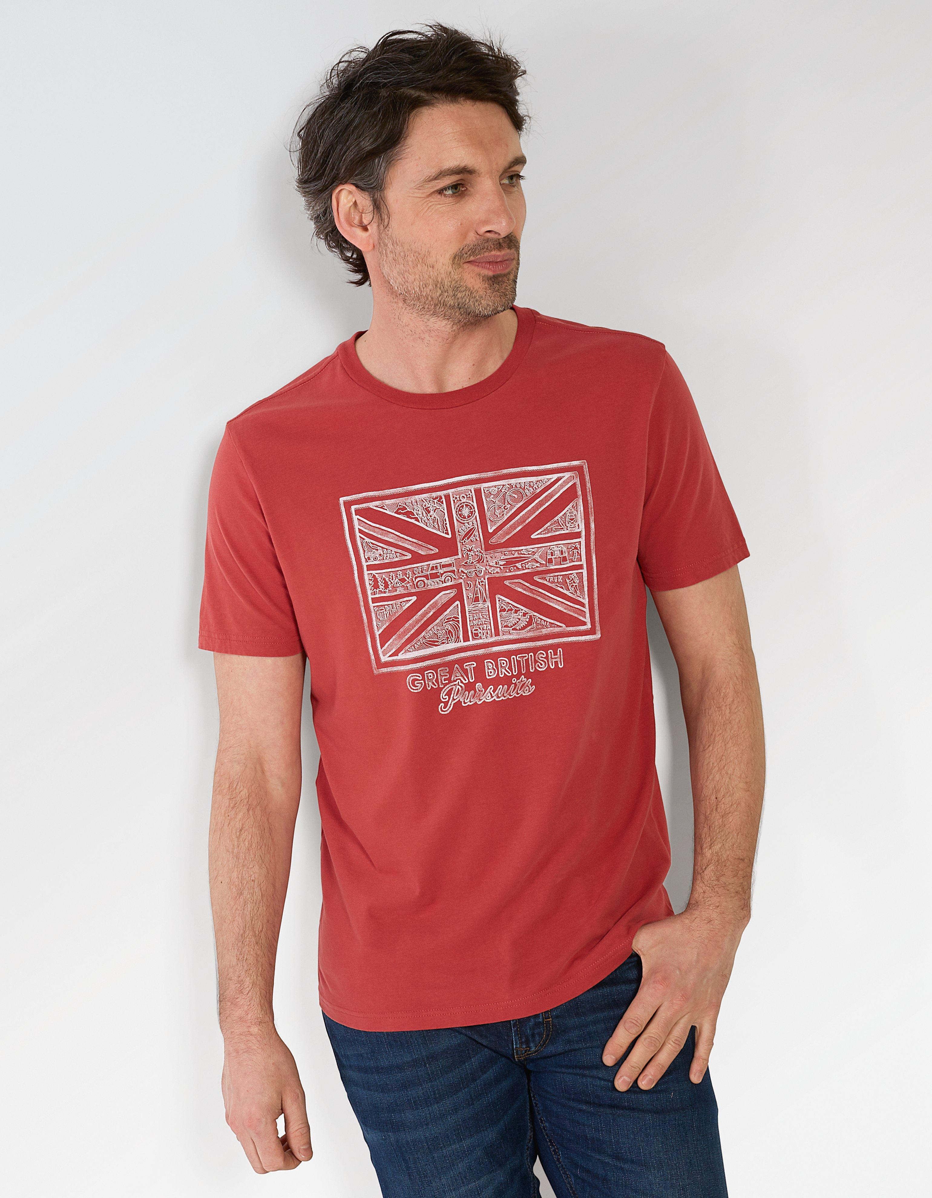 Great British Organic Cotton Graphic T Shirt