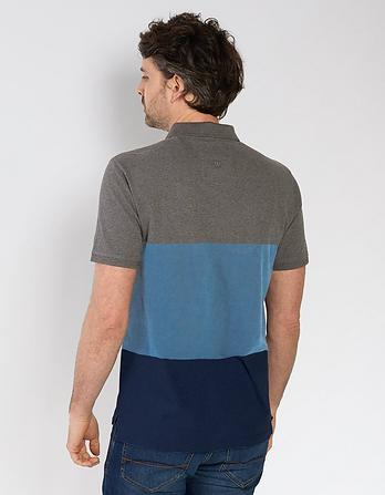 Palmerston Stripe Organic Cotton Polo