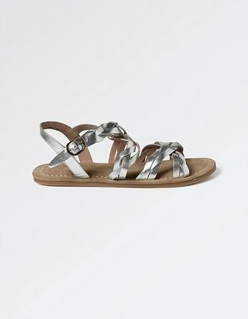 Emma Plaited Sandals