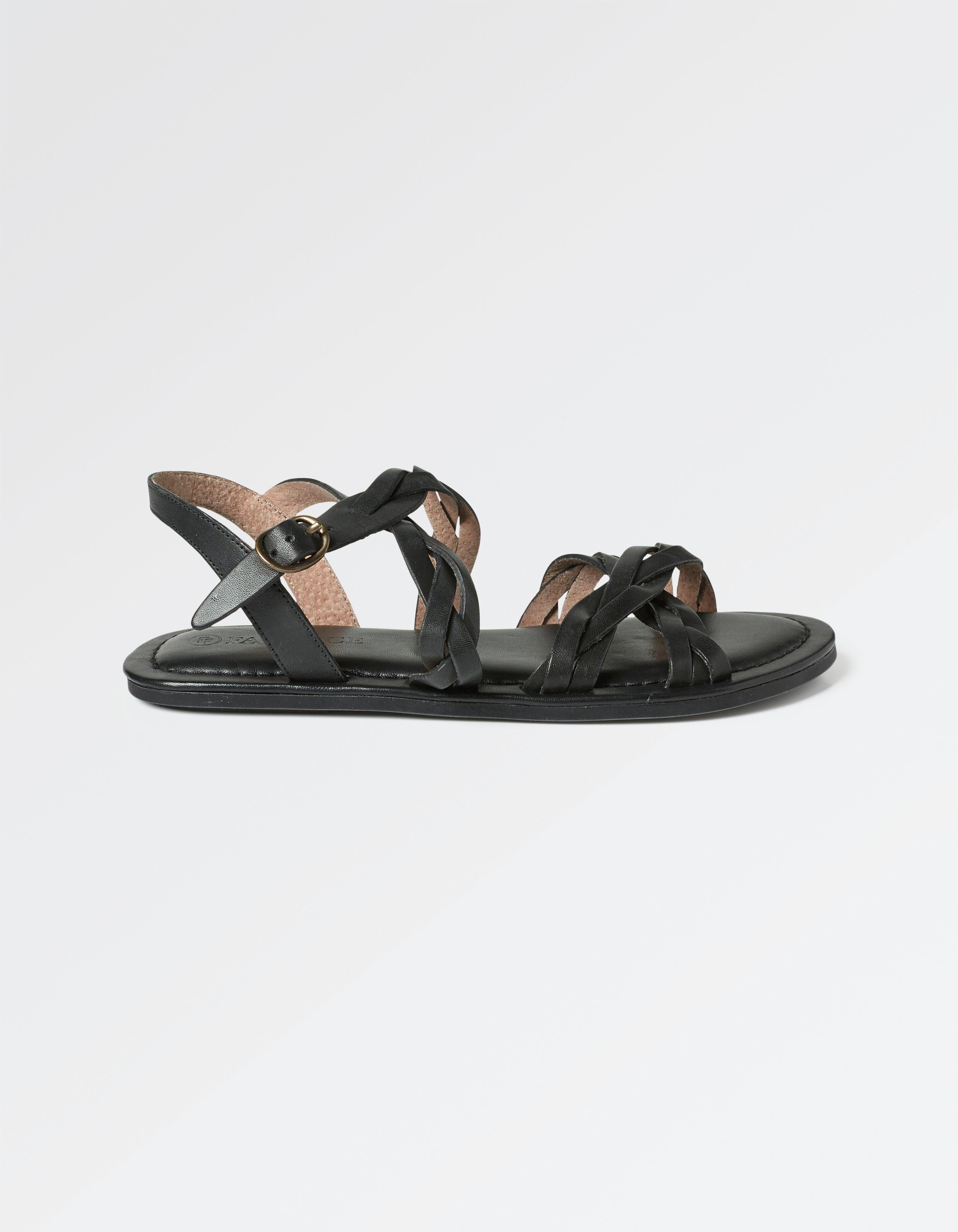Emma Plaited Sandals