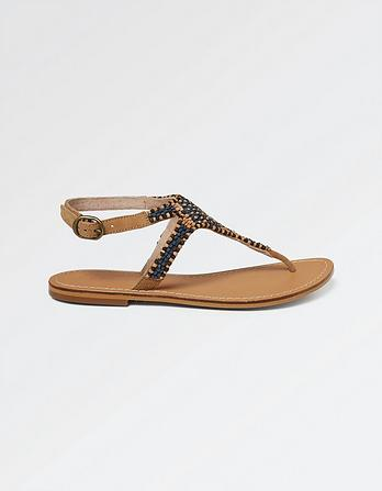 Ellis Embellished Sandals