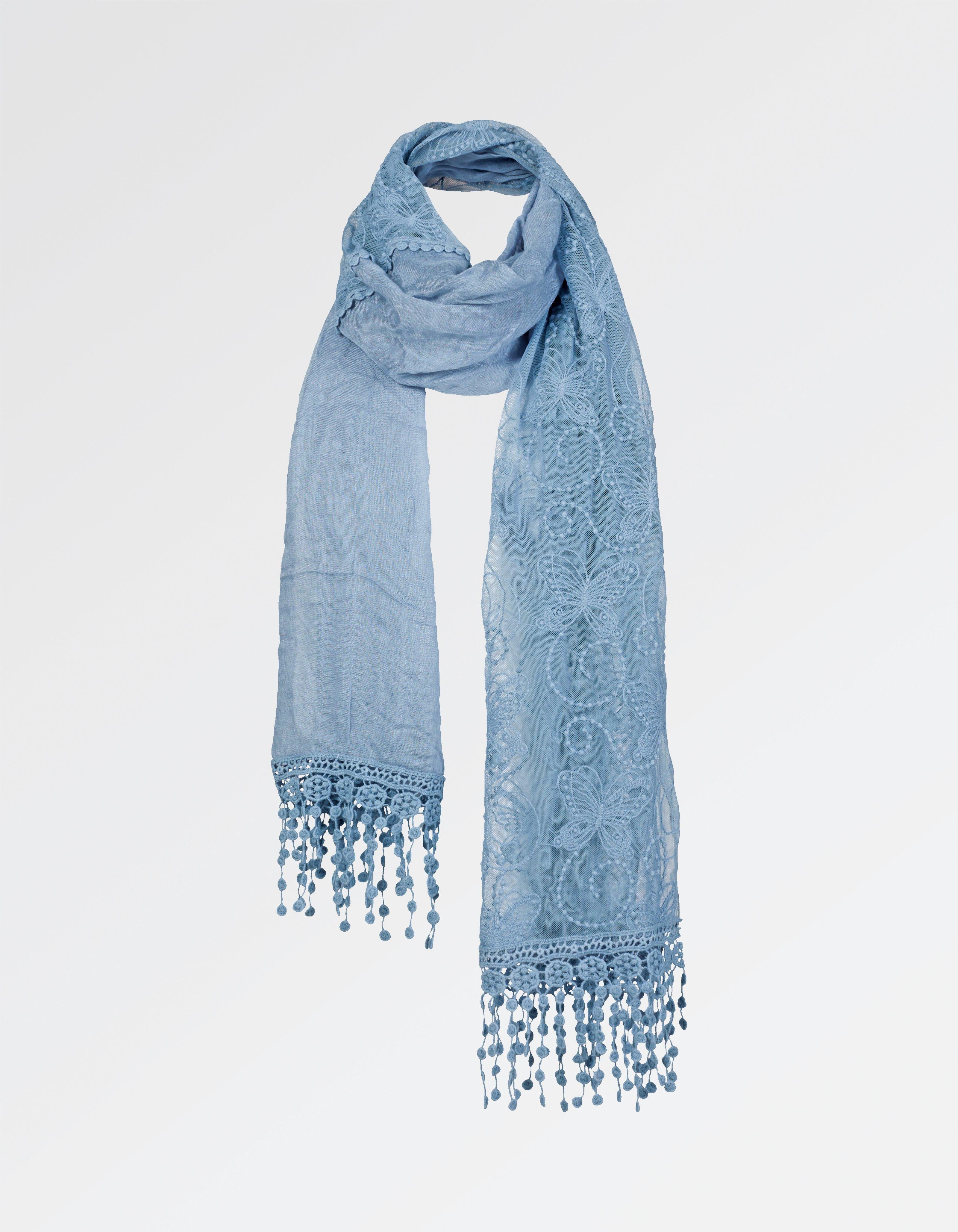 Butterfly Lace Scarf