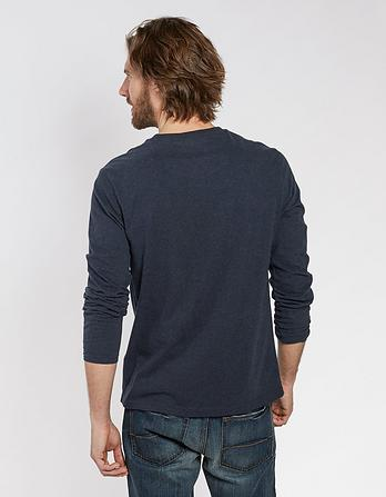 Organic Cotton Long Sleeve T-Shirt