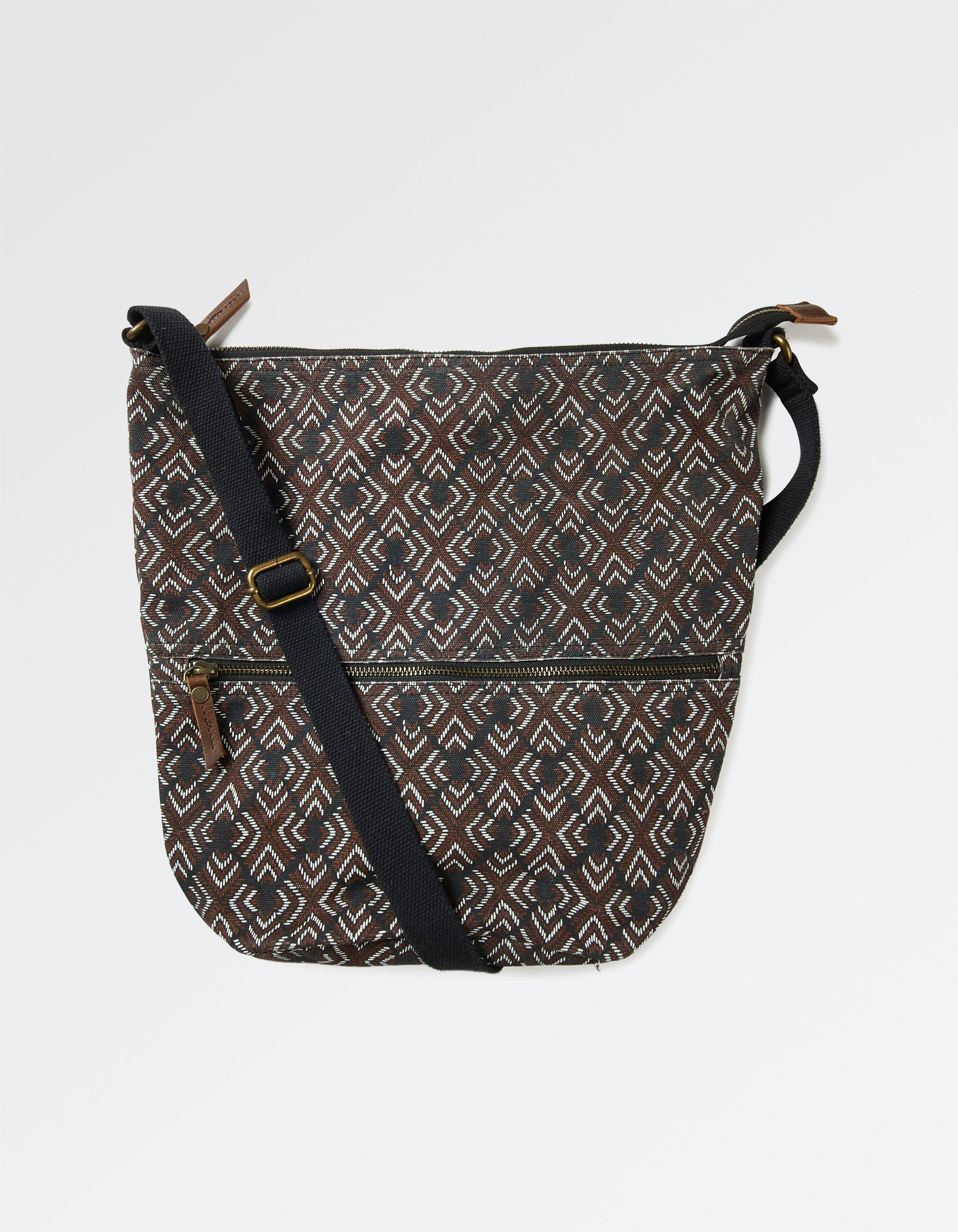 Diamond Stitch Tia Cross Body Bag