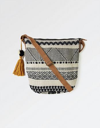 Aztec Woven Tia Cross Body Bag