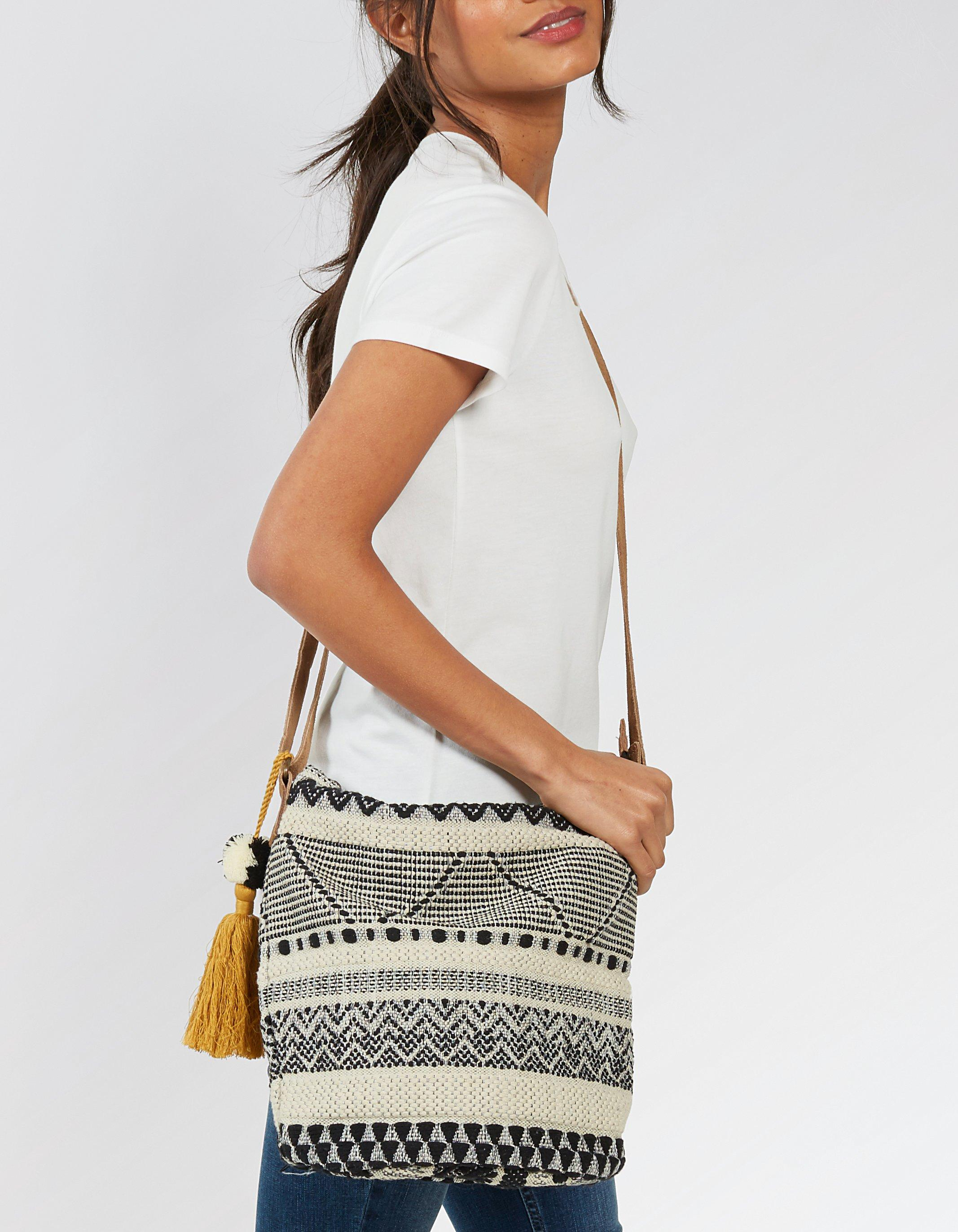 Aztec Woven Tia Cross Body Bag