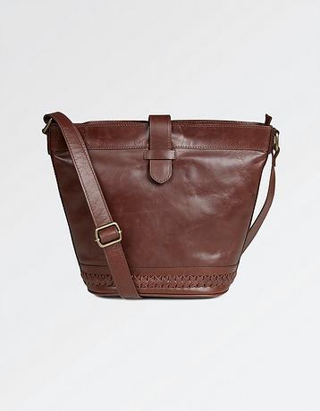 Frankie Whipstitch Cross Body Bag