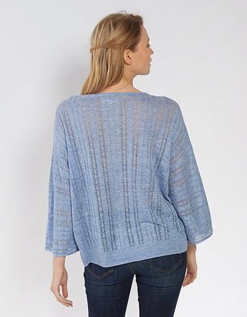 Daisy Pointelle Sweater