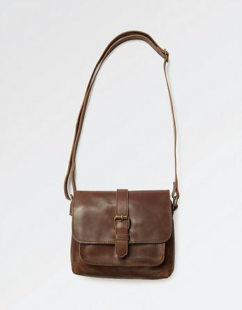 Cassie Leather Cross Body Bag