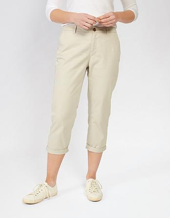 Organic Cotton Lulworth Chino Crops