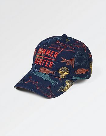 Deep Sea Print Cap