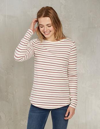 Organic Cotton Multi Colored Breton T-Shirt