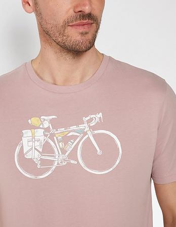 Bicycle Organic Cotton Graphic T-Shirt