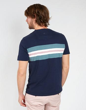 Lydney Chest Stripe T-Shirt
