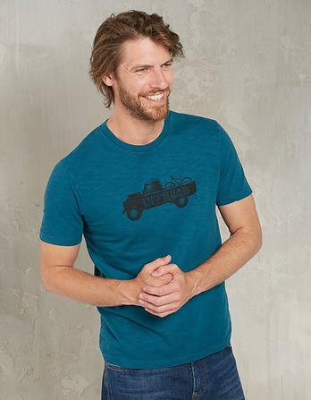 Off Road Organic Cotton Graphic T-Shirt