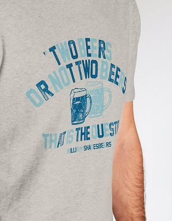Two Beers or Not Graphic T-Shirt