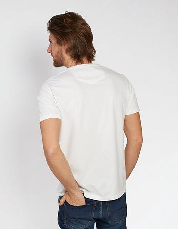 Hawnby Organic Cotton V Neck T Shirt