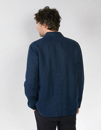 Linen Worker Jacket