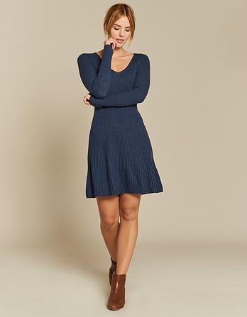 Emily V-Neck Dress
