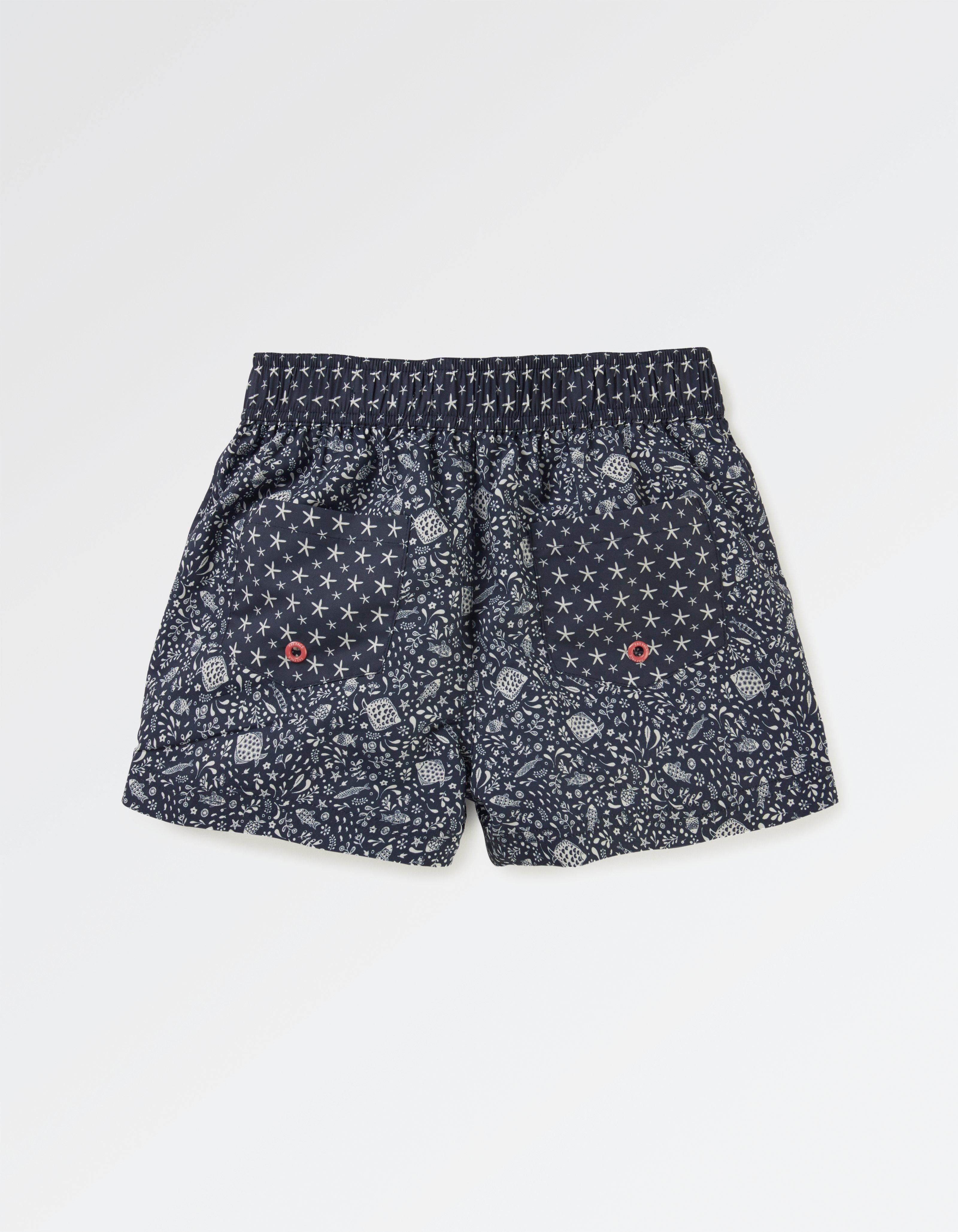 Floral Fish Board Shorts