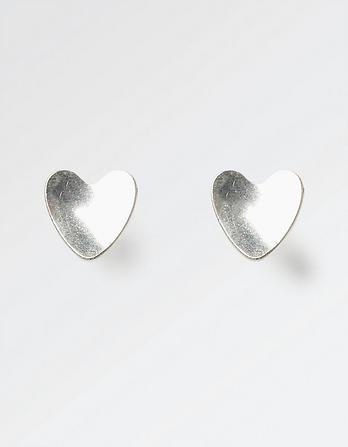 The Old Farmhouse Heart Stud Earrings