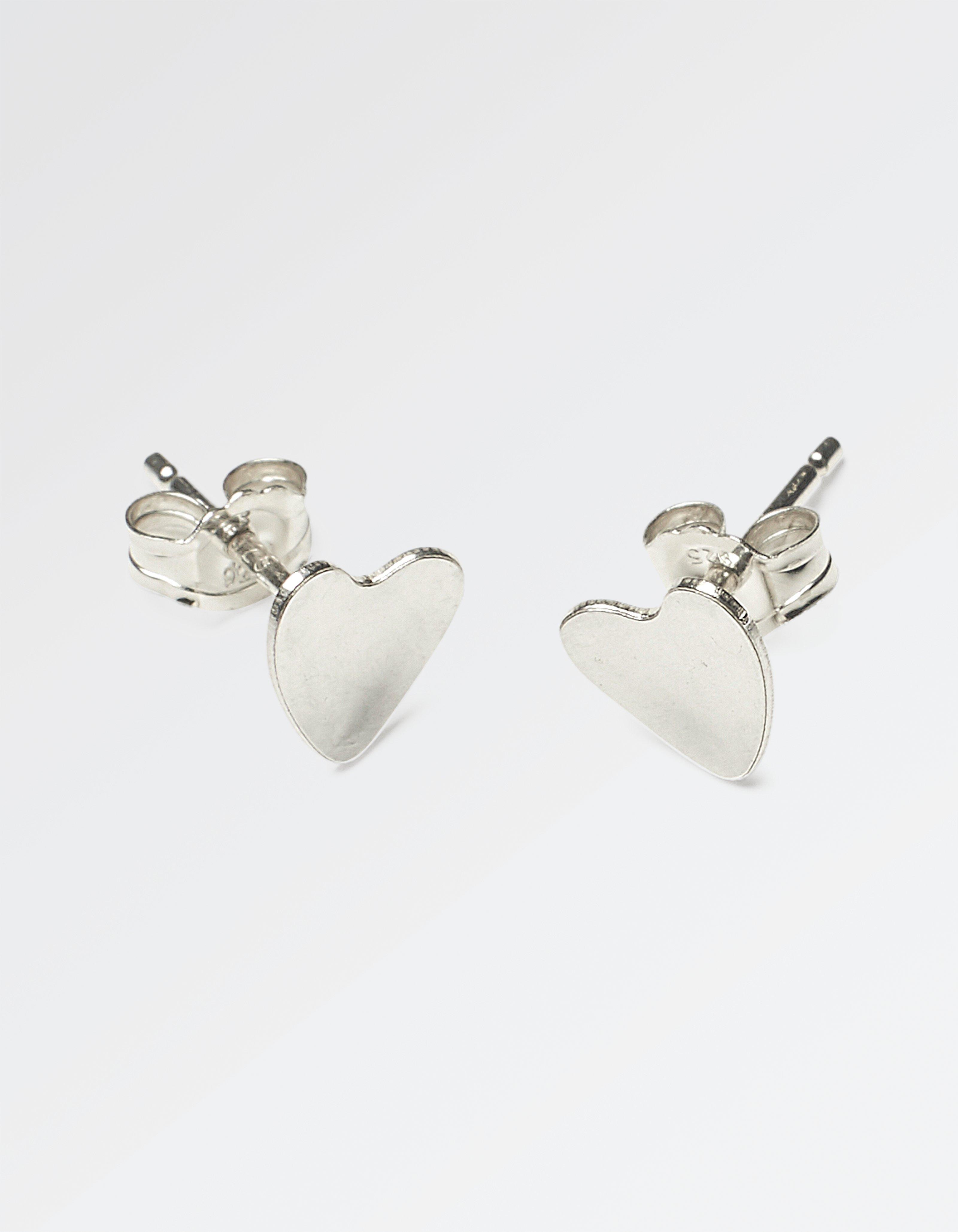 The Old Farmhouse Heart Stud Earrings