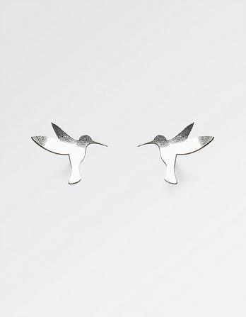 The Old Farmhouse Hummingbird Stud Earrings
