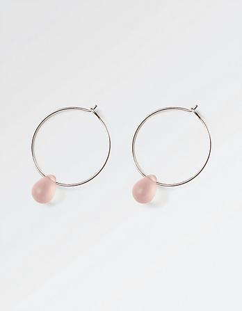 The Old Farmhouse Teardrop Hoop Earrings