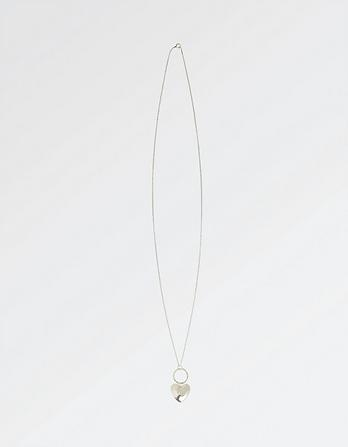 The Old Farmhouse Heart Long Necklace