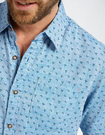Shaldon Ditsy Print Shirt