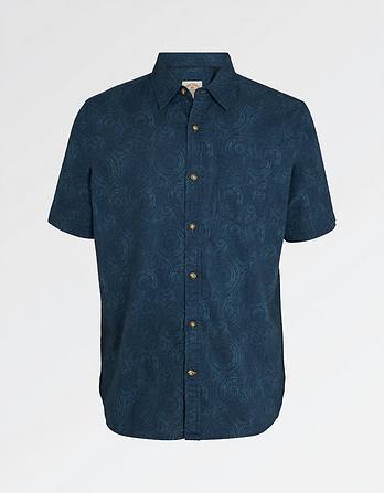 Spiral Print Shirt