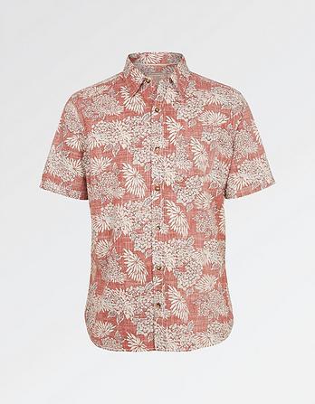 Feniton Floral Print Shirt