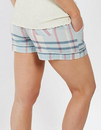 Classic Check Pajama Shorts