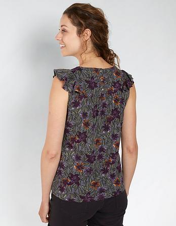 Mila Jungle Floral Top