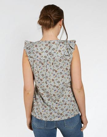Mila Trailing Floral Print Top