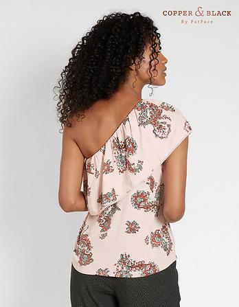 Beatrice Paisley Print Top