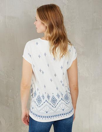 Tribal Batik Graphic T-Shirt