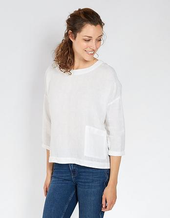 Ophelia Linen T-Shirt