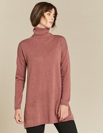 Suzie Swing Roll Neck Sweater