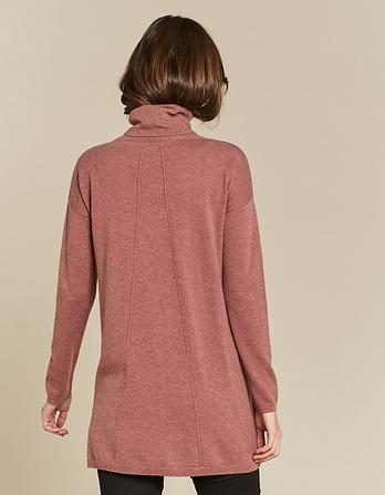 Suzie Swing Roll Neck Sweater