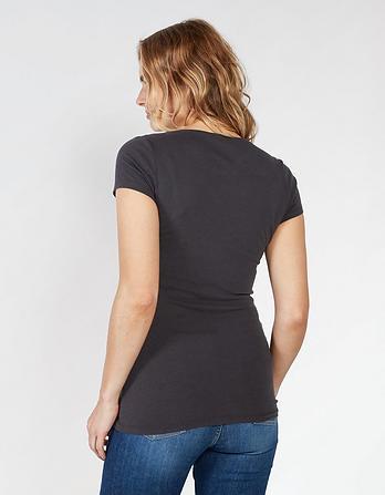 Hannah V-Neck T-Shirt