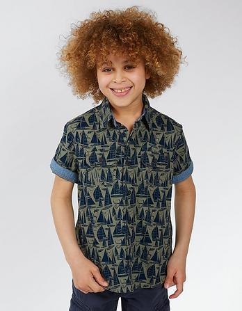 Sailing Print Shirt