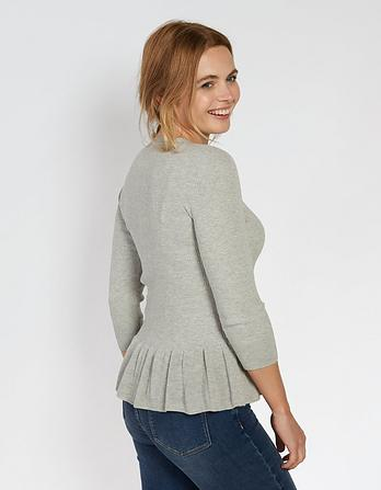 Fiona Peplum Sweater