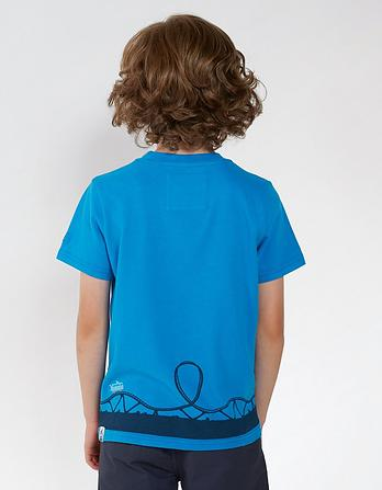 Van Roller Coaster Graphic T-Shirt