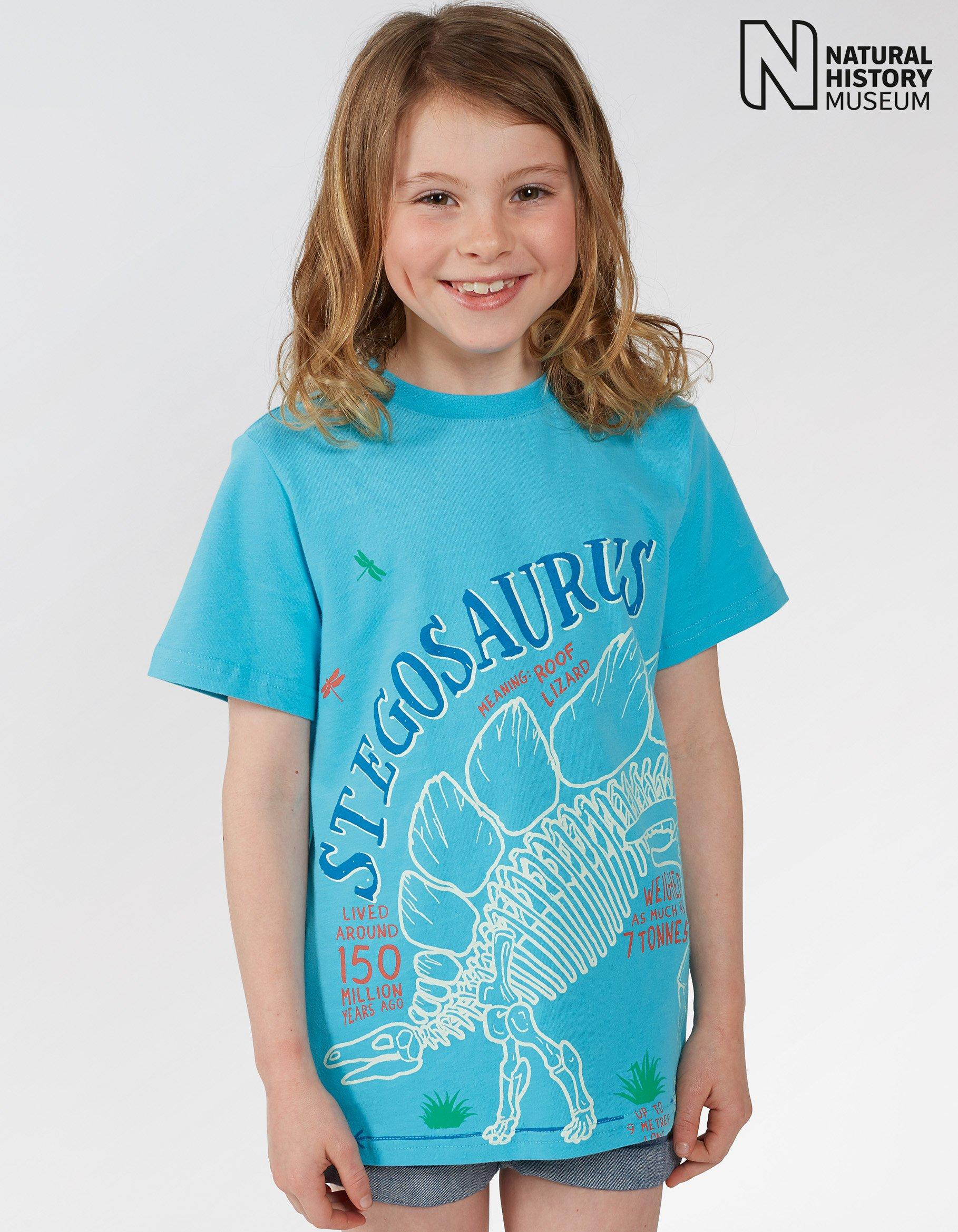 Natural History Museum Stegosaurus T Shirt
