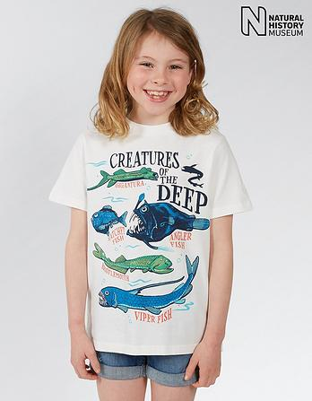 Natural History Museum Creatures T Shirt